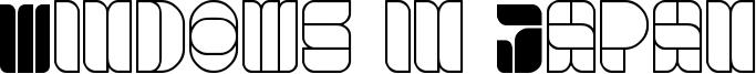 Windows in Japan Font