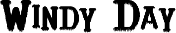 Windy Day Font