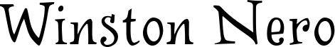 Winston Nero Font