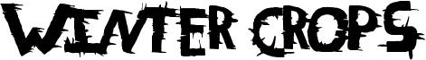 Winter Crops Font