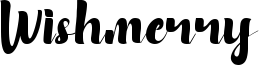 Wishmerry Font