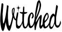 Witched Font