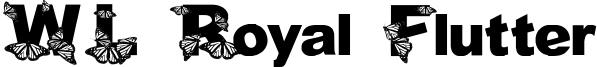 WL Royal Flutter Font