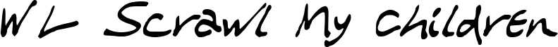 WL Scrawl My Children Font