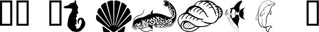 WM Aquatic 1 Font