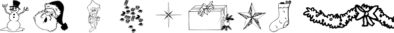 WM Christmas Font