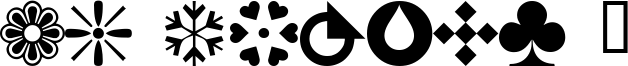 WM Shapes 1 Font