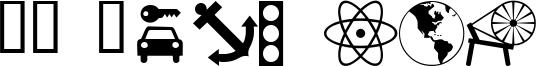 WM Symbols Font