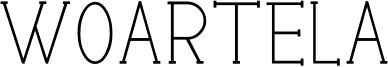 woartela Font