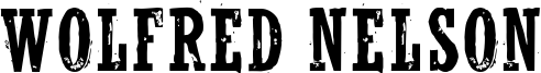 Wolfred Nelson Font
