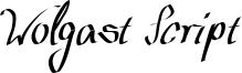 Wolgast Script Font