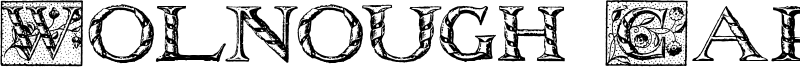 Wolnough Capitals Font