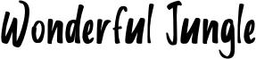 Wonderful Jungle Font