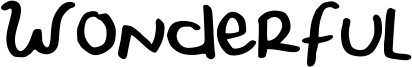 Wonderful Font