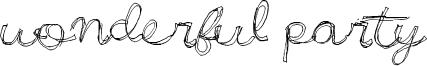 Wonderful Party Font