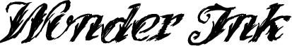 Wonder Ink Font