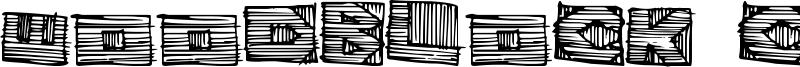 Woodblock Cutter Font