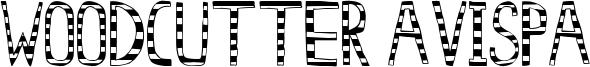 Woodcutter Avispa Font