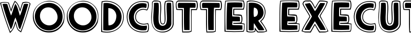 Woodcutter Executive Font