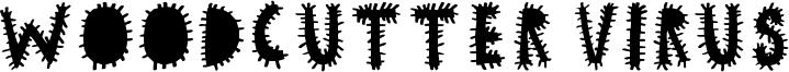 Woodcutter Virus Font