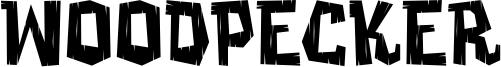 Woodpecker Font