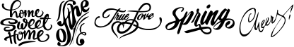 Words Font