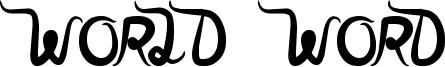 World Word Font