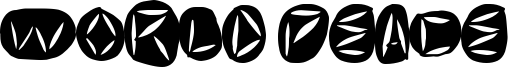 World Peace Font