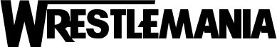 Wrestlemania Font