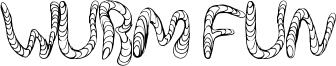 Wurm Fun Font