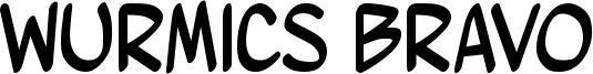 Wurmics Bravo Font