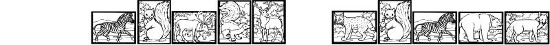 WW Animal Prints Font