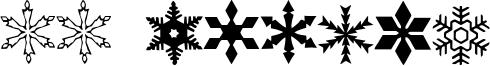 WW Flakes Font