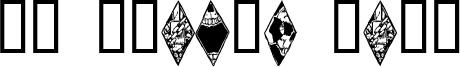 WW Wraith Bats Font