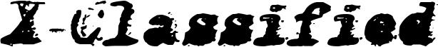 X-Classified Italic.ttf