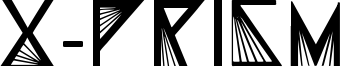 X-Prism Font