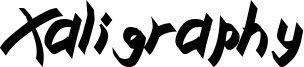 Xaligraphy BoldItalic.ttf