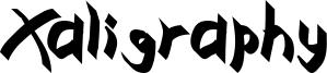 Xaligraphy Bold.ttf
