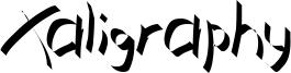 Xaligraphy Thin.ttf