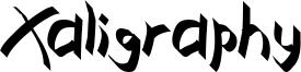 Xaligraphy Font