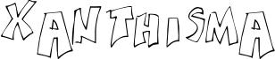 Xanthisma Font