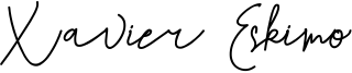 Xavier Eskimo Font