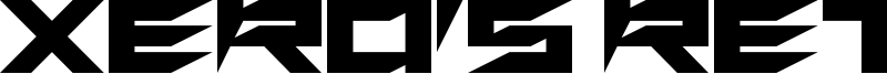 Xero's Retreat Font