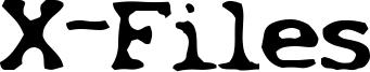 X-Files Font