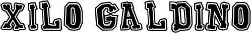 Xilo Galdino Font