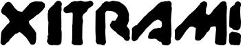 XitRAM! Font