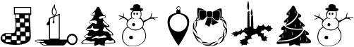 Xmas Dings Font