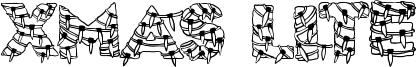 Xmas Lite Font