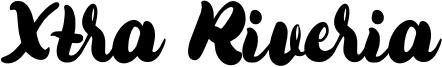 Xtra Riveria Font
