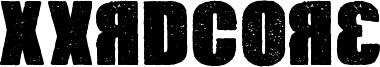 Xxrdcore Font
